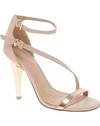 Asos High-wire Heeled Sandals - Lyst