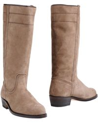 Camperos Highheeled Boots - Lyst