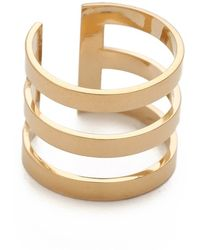 Jennifer Zeuner Yvette 3 Band Ring - Lyst