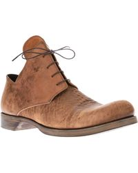 Lost & Found - Derby Ankle Boot - Lyst