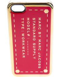 Marc By Marc Jacobs - Standard Supply Iphone 5 Case - Lyst