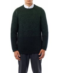 Jil Sander Chunkyknit Crewneck Sweater - Lyst