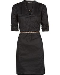 Mango Shirt Cotton Dress - Lyst