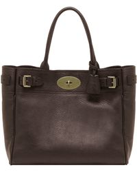 Mulberry Bayswater Tote - Lyst