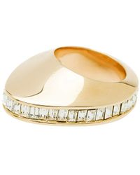 CC Skye Space  Time Baguette Ring - Lyst