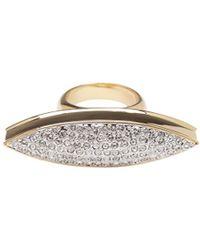 CC Skye Spear Ring - Lyst