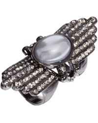Paul Smith - Asos Pearl Fan Hinged Ring - Lyst