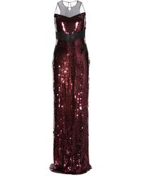 Jason Wu Sequined Silk-Chiffon Gown - Lyst