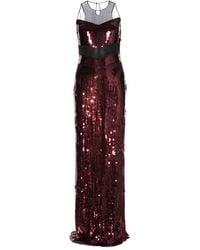 Jason Wu Sequined Silk-Chiffon Gown - Lyst