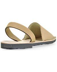 Plomo - Abarca Menorquina Sand Leather Slingback Sandal - Lyst