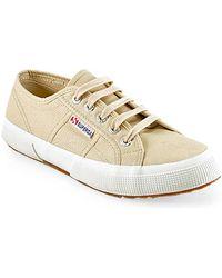 Superga 2750 - Canvas Platform Sneaker - Lyst