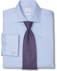 Brooks Brothers Golden Fleece® Madison Fit Micro Check French Cuff Dress Shirt - Lyst