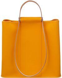 Hermes Yellow Cabag Twist - Lyst