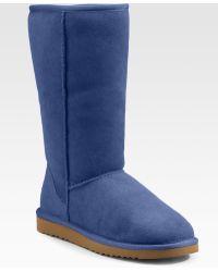Ugg Classic Sheepskin Tall Boots - Lyst