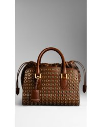 Burberry Tote - Lyst