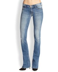 Mother The Runwaway Flared Skinny Jeans - Lyst