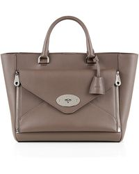 Mulberry - Willow Classic Silky Calf Tote - Lyst