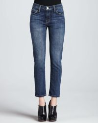 Current/Elliott The Fling Loved Faded Cropped Jeans - Lyst