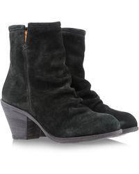 Fiorentini + Baker Green Ankle Boots - Lyst