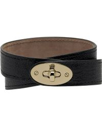 Mulberry Bayswater Double-wrap Bracelet - Lyst