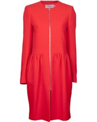 Preen By Thornton Bregazzi Zip Front Dress - Lyst