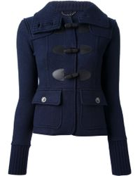 Burberry Brit - Short Duffle Coat - Lyst