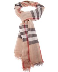 Burberry 'House Check' Scarf - Lyst