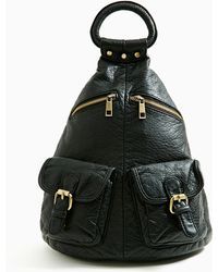 Nasty Gal Study Hall Backpack - Lyst