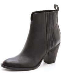 Boutique 9 Raiden Mid Heel Booties - Lyst