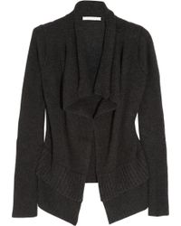 Duffy - Draped Cashmere Cardigan - Lyst