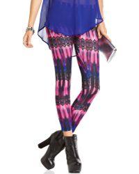 Material Girl Printed Leggings - Lyst