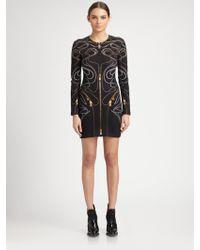 McQ by Alexander McQueen Zipperprint Interlock Dress - Lyst