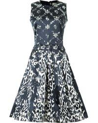 Preen By Thornton Bregazzi Wendell Dress blue - Lyst