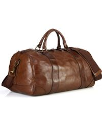 Polo Ralph Lauren Core Leather Gym Bag - Lyst