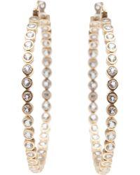 Asha - Vermeil Earrings - Lyst