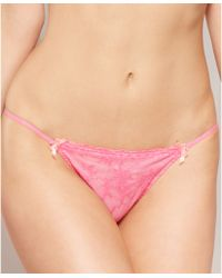 Felina - Harlow Low Rise G String Thong 694p - Lyst