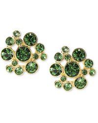 Givenchy 10k Goldplated Erinite Swarovski Element Bubble Earrings - Lyst
