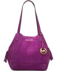 Michael Kors Ashbury Large Grab Bag - Lyst