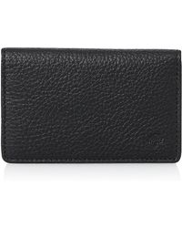 Mulberry black business card holder in black for men lyst mulberry black business card holder lyst reheart Gallery