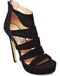 Steve Madden Spycee Platform Sandals - Lyst
