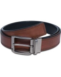 Timberland Harness Leather With Double Edge Stitch Belt - Lyst