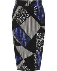 Topshop Matenity Animal Mix Tube Skirt - Lyst