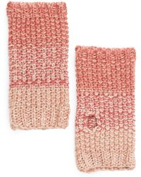 Mango | Touch Ombré Reverse Knit Fingerless Gloves | Lyst