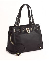 Juicy Couture Daydreamer Leather Crossbody Tote Bag - Lyst