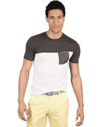 Marc Ecko Short Sleeve Coma Crew Neck Shirt - Lyst