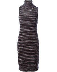 Missoni Striped Knitted Dress - Lyst