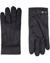 Mulberry Leather Day Gloves - Lyst