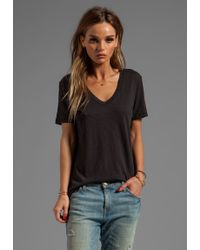 Rag & Bone The Jackson V in Black - Lyst