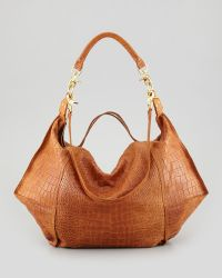 Cynthia Vincent - Crocodileembossed Dunnaway Tote Bag - Lyst