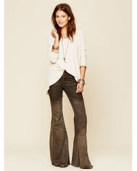 Free People Seamed Bambi Flare - Lyst
